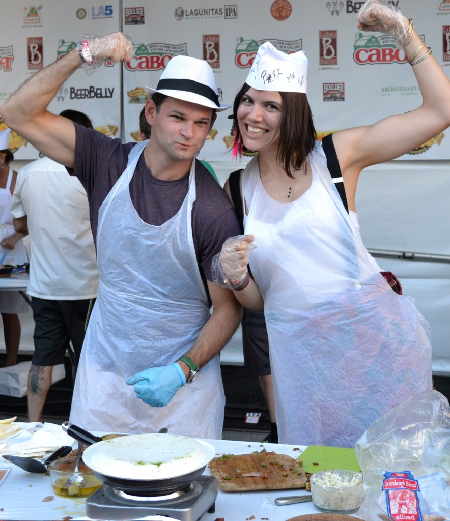 competing in l.a.'s grilled cheese invitational