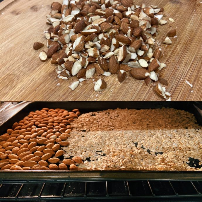 how to make easy granola bars with dates