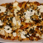 how to make fresh pizza casserole