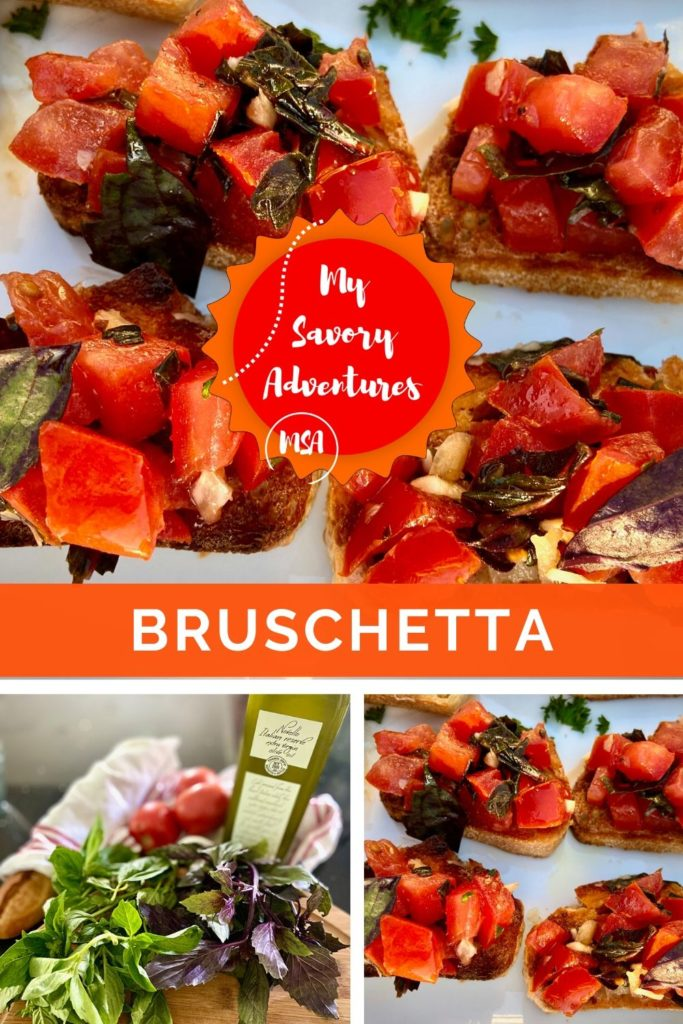 how to make traditional bruschetta