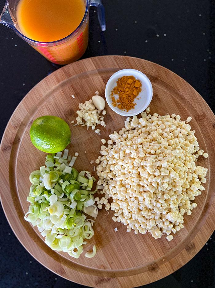 corn gazpacho ingredients