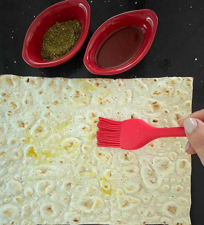 homemade lavash chips