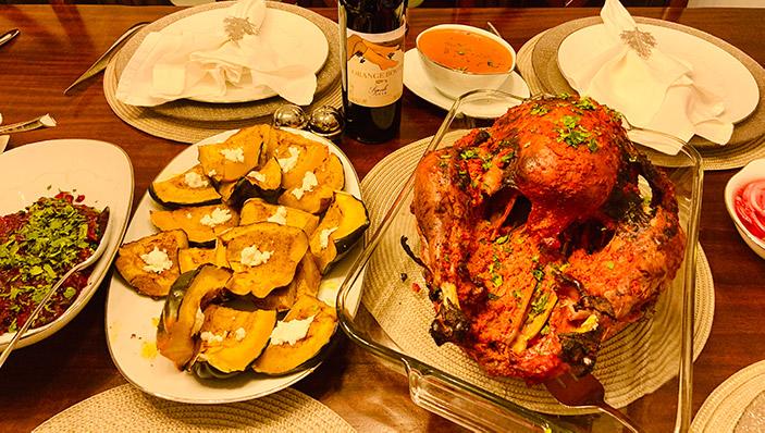 tandoori turkey recipe