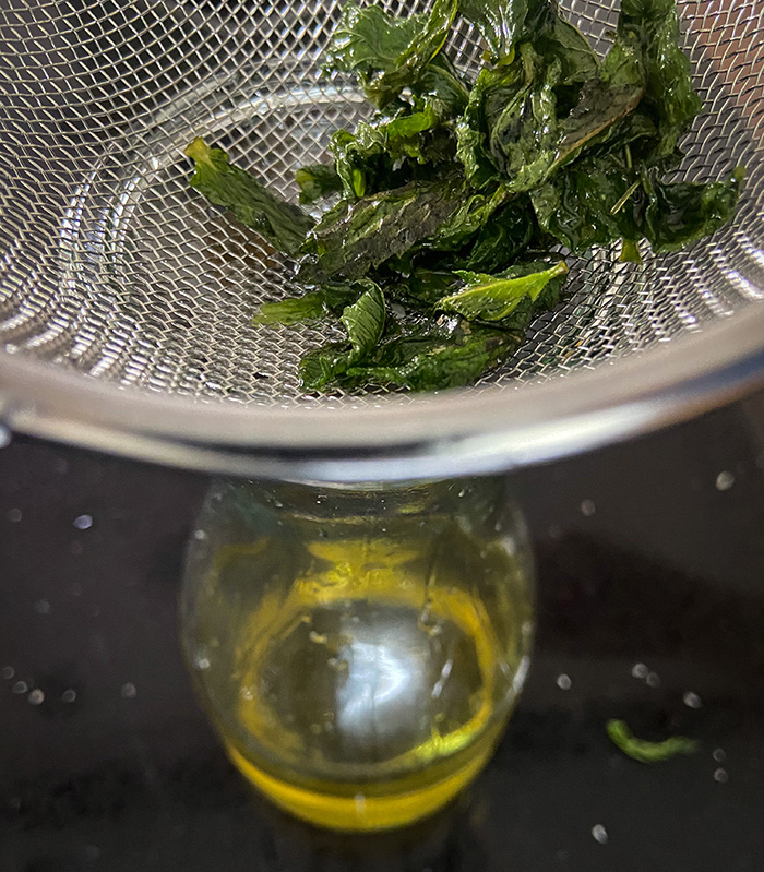 mint simple syrup for mojitos