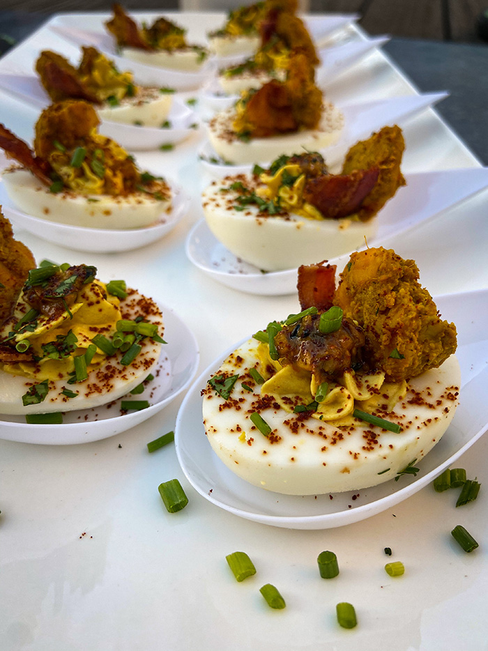 indian deviled eggs