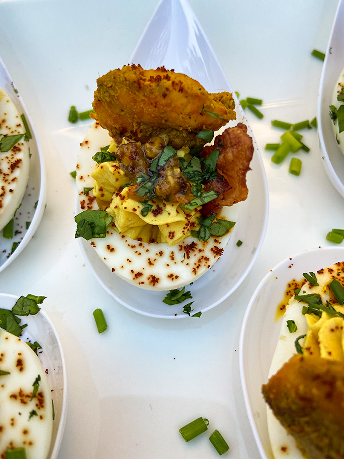 deviled eggs indian recipe
